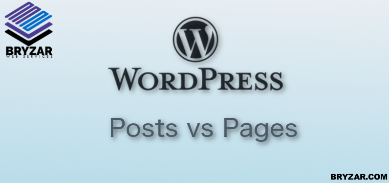 Post or Page?  What's the difference?
