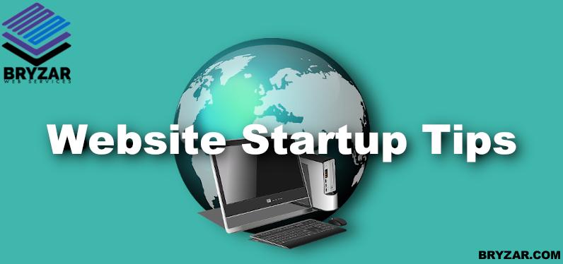 Website Startup Tips